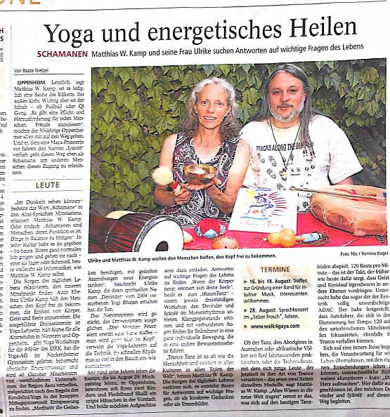 Allgemeine Zeitung , Samstag 27.07.2013