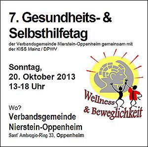 Oppenheim: 7. Gesundheits- und Selbsthilfetag